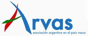 Logotipo de ARVAS, Asociación Argentina en el País Vasco