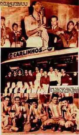 Imágenes de una revista de los años 60 en Argentina, con Palito Ortega dando sus primeros pasos con La Bandita de Carlinhos