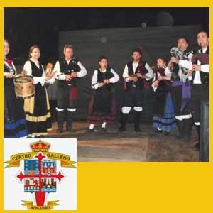 Conjunto folklórico gallego del Centro Gallego de Rosario, Argentina