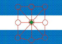 Logotipo del Centro Argentino Navarro, asociación de los argentinos en Pamplona, Navarra, España