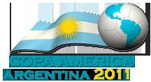 Logotipo de la Copa América Argentina 2011 - Argentina al Mundo difundiendo nuestra cultura, deporte, música, tradiciones desde España en www.argentinamundo.com