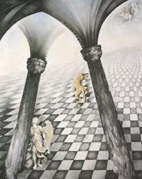 Obra de la artista plástica Elsa Pérez Vicente, nacida en Buenos Aires, Argentina