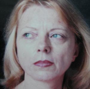 """Eva Nicco Chiurazzi, escritora italiana, autora del libreo """"Bajo la mirada del cóndor"""" cuya temática tiene referencias a Argentina"""