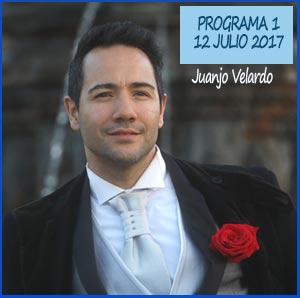 Grabación del programa donde Juanjo Velardo cuenta sus comienzos en Pergamino, Buenos Aires, Argentina - El acordeón, comienzo en el canto