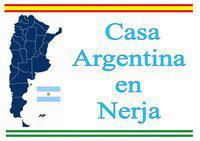 Logotipo de la Casa Argentina en Nerja, Málaga, Andalucía
