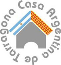 Logotipo de la Casa Argentina de Tarragona, provincia de Tarragona, Cataluña, España