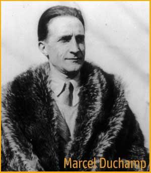 Foto de Marcel Duchamp, escultor y escritor francés que vivió en Buenos Aires, Argentina, entre 1818 y 1819