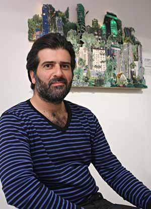 Rafael Spregelburd, autor y director argentino de teatro.