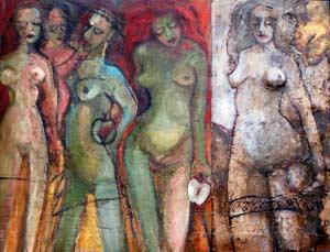 Armadas para la vida, una de las obras que expondrá en Barcelona la artista argentina Susana Negri.