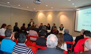 Aspecto del acto de homenaje a la Bandera Argentina tributado el 17 de febrero 2012 en Barcelona