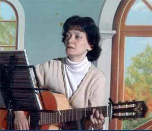 Adela Silvia Gruvman, Juliette, en su faceta de cantante. Artista de Rosario, Argentina