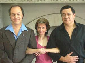 La argentina Adela Silvia Gruvman, artista, cantante y realizadora de cine rosarina.
