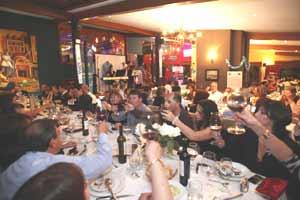 Una de las fiestas celebradas por ADRA Asociación de Residentes Argentinos en Ecuador