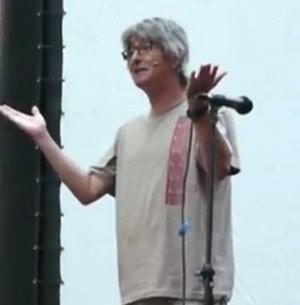 Alejandro Guanella, humorista argentino radicado en Galicia. Vive en Vilagarcia de Arousa
