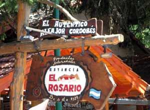 Local en Villa General Belgrano del fabricante de alfajores cordobeses, en Argentiba, Estancia El Rosario