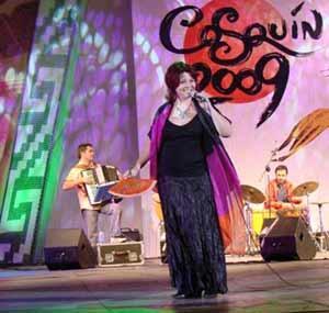 Anabella Zoch, cantante argentina de folklore y tango
