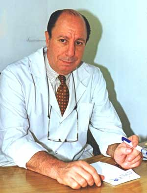 Dr. Ángel Eduardo Quartucci, médico argentino, hijo del recordado actor y boxeador olímpico Pedro Quartucci
