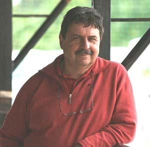 Antonio Piedrafita, bandoneonista porteño nacido en el barrio de El Abasto, que vive en Vigo, Galicia, España
