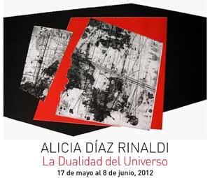 Exposición de la artista plástica argentina Alicia Díaz Rinaldi