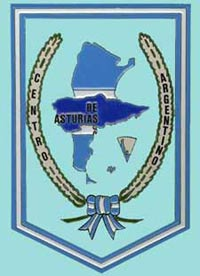 Logotipo del Centro Argentino de Asturias, con sede en Gijón.