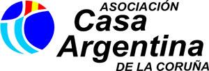 Logotipo de la Asociacion Casa Argentina de La Coruña, Galicia, España