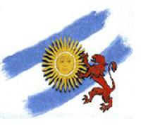 Logotipo de la Asociación Casa Argentina en León, León, España