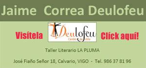Banner para visitar la Web del Centro de Arte Deulofeu, de Vigo, España