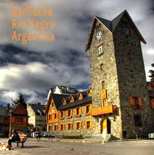 Ciudad de San Carlos de Bariloche, Provincia de Río Negro, Argentina. Turismo internacional