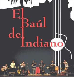 Conjunto El Baúl del Indiano de Valladolid, donde es percusionista el ex-portero de Vizcaya,  José Antonio Aramayo, que vivió su niñez y adolescencia en Argentina