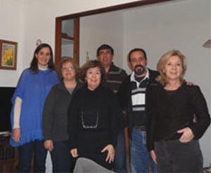Comisión directiva de la Casa Regional de Buenos Aires y Provincia, asociación argentina de las islas Baleares, con sede en Palma de Mallorca