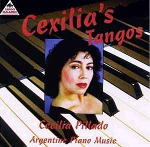 Cartel del disco de tango de la pianista argentina Cecilia Pillado