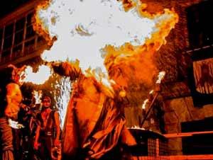 Festejos de Vimiazo, provincia de La Coruña, Galicia, España, que se remontan a la edad media y muchos de ellos con raíces celtas