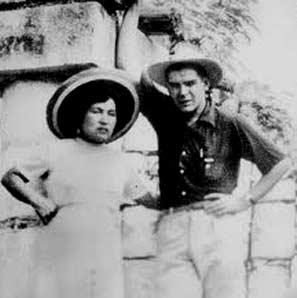 Hilda Gadea y Ernesto Che Guevara