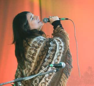 "María Ángeles ""Chiqui"" Ledesma, cantante argentina de folklore"
