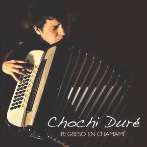 """El acordeonista y cantante entrerriano Chochi Duré, nacido en Nogoyá, criado en el Paraje """"El Algarrobito"""", ambos en Entre Ríos, Argentina. Se formó en Rosario y vive en Almería, España"""