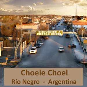 Ciudad de Choele Choel, provincia de Río Negro, Argentina. Turismo en el Valle del Río Negro