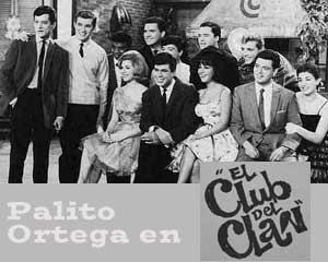 Años de mucho éxito en la trayectoria de Palito Ortega, el Rey de la Nueva Ola, desde El Club del Clan de Canal 13 de televisión, Buenos Aires, Argentina