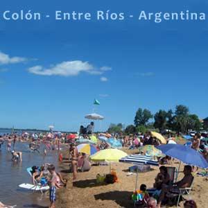 Ciudad de Colón, Provincia de Entre Ríos, Argentina. Capital Provincial del Turismo