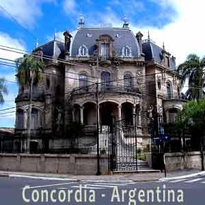 Ciudad de Concordia, Provincia de Entre Ríos, Argentina. Famosa por sus naranjas, limones, mandarinas