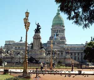 Congreso de la Nación de la República Argentina en su Capital Federal, la ciudad autónoma de Buenos Aires