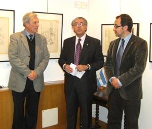 El Cónsul Daniel Samaniego a cargo de la representación argentina en Palma de Malloca, Islas Baleares, España. Este consulado argentino fue inaugurado en Octubre 2011