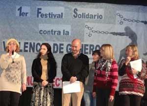 Primer Festival Solidario conta la Violencia de Género en Mar del Plata, Julio 2012