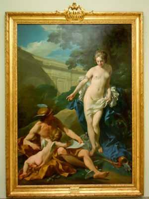 Obras de arte de la Real Academia de las Bellas Artes de Madrid, España.