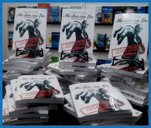 """Edición del libro """"Mis días con Leo"""" del escritor y humorista argentino Alejandro Guanella, basado en su amistad con Leonardo Rosenwasser"""