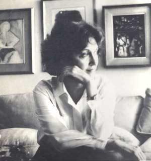 La cantante y profesora argentina de teatro Dina Rot