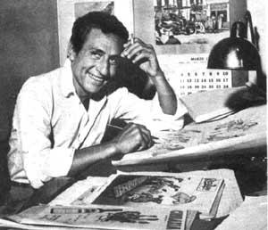 José Antonio Guillermo Divito, célebre dibujante argentino, creador de personajes como el Dr. Merengue y publicaciones como Rico Tipo