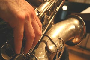 Eduardo Kohan, saxofonista argentino que reside en Ginebra, Suiza