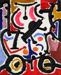 El Color, obra de Laxeiro, pintor gallego del Siglo XX, que vivió muchos años en Buenos Aires, Argentina