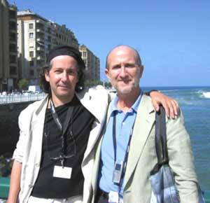 Los autores y productores del filme La Pérdida Enrique Gabriel, argentino, y Javier Angulo, Español. El primero de ellos también ha sido el director de este documental que ha recibido muchas distinciones en el mundo