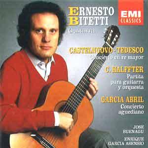 Uno de los muchos discos grabados a lo largo de su carrera profesional por el guitarrista argentino Ernesto Bitetti